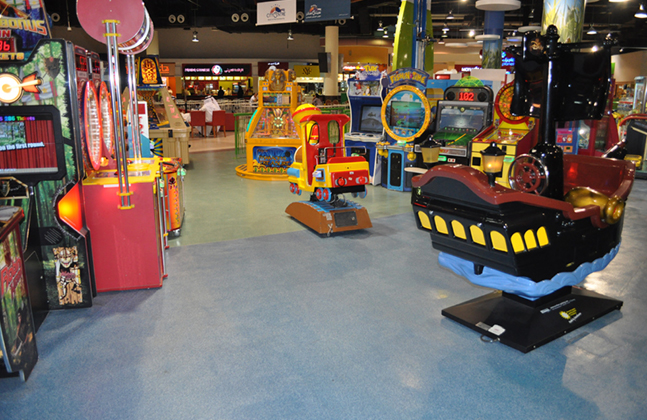 Flowcrete Delivers the Fun Factor For Magic Planet.