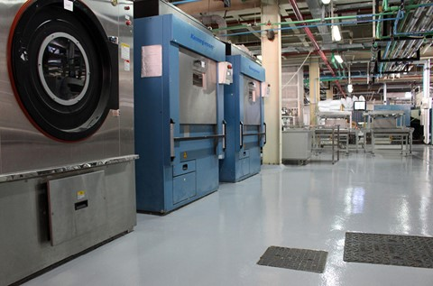 Linencraft Upgrades with Flowcrete Flooring